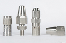 High pressure Nozzle Holders and Caps