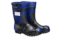 Protection boots for hydraulic fluids