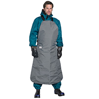 Safety clothing Apron for hydraulic fluid protection high pressure