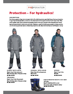 TST Protection for hydraulics Catalogus Salotech