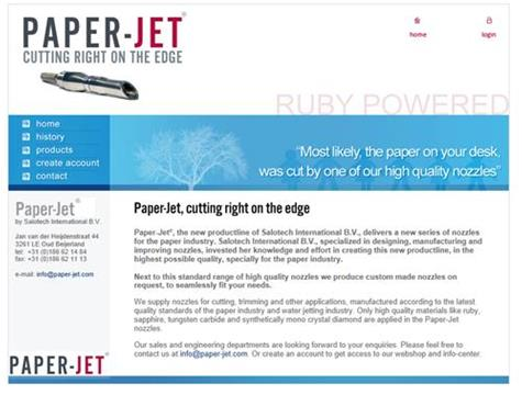 website PaperJet