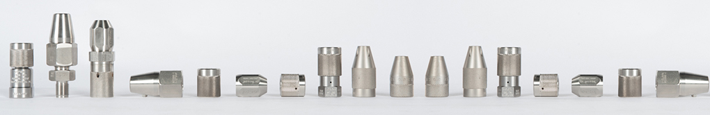 Nozzle holders high pressure